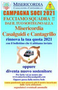 Campagna Soci Misericordia Casalguidi